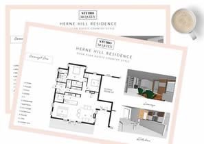Perth Renovation design concept by Studio McQueen bespoke perth renovation studio.