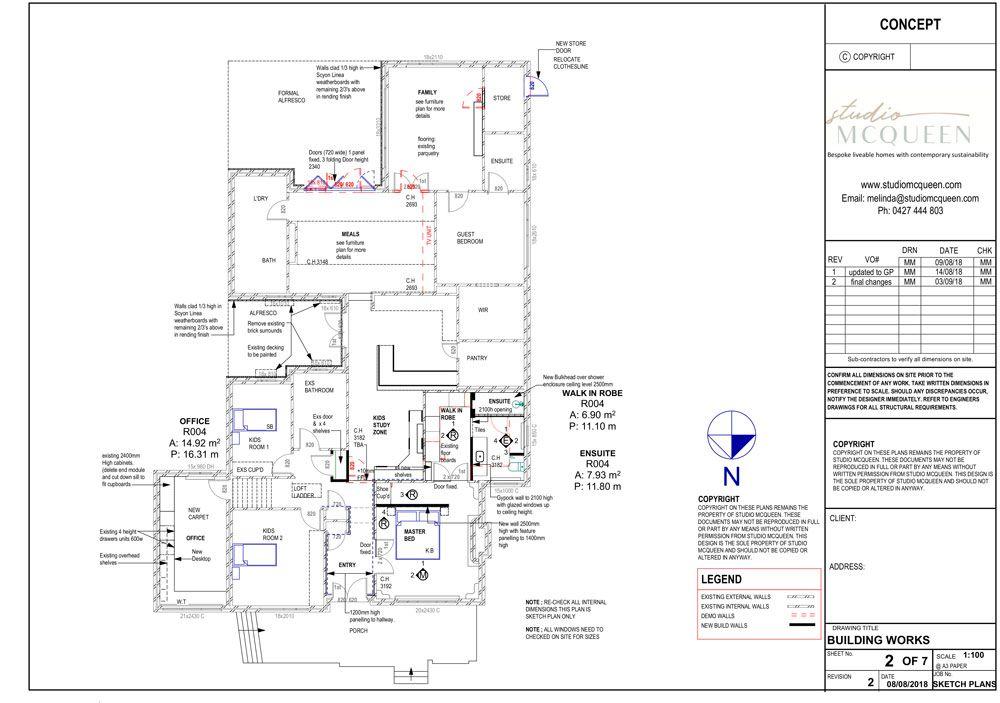 Master bedroom renovation perth | Small home Renovations Perth | Studio McQueen | Melinda McQueen interior designer and architectural designer