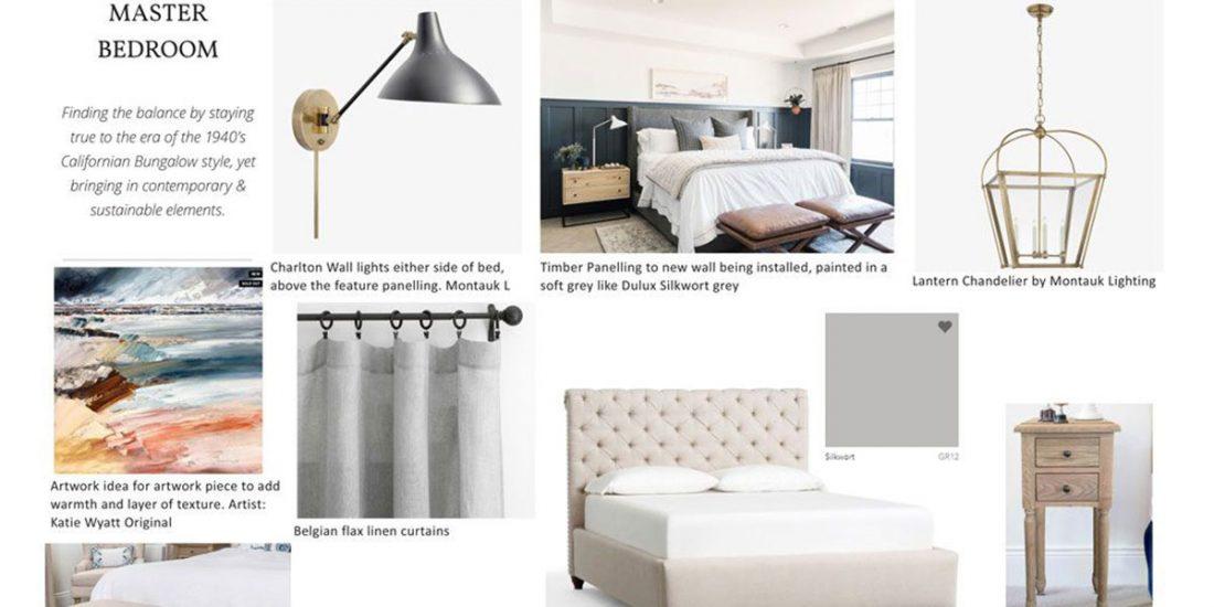 Master bedroom renovation perth   Small home Renovations Perth   Studio McQueen   Melinda McQueen interior designer and architectural designer