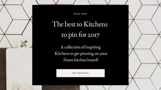 Perth Kitchen design trends and the best 10 kitchens to pin for 2017 by Studio McQueen | Perth Interior designer, Perth Building designer