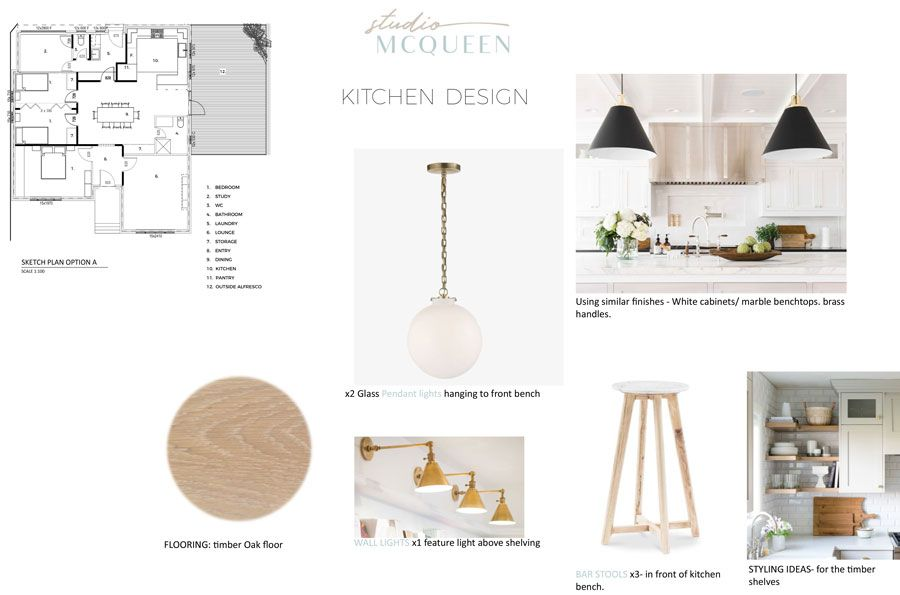 Interior Design Scheme by Studio McQueen| Dining Room | Contemporary Australian Design | Sustainable Interior Design |