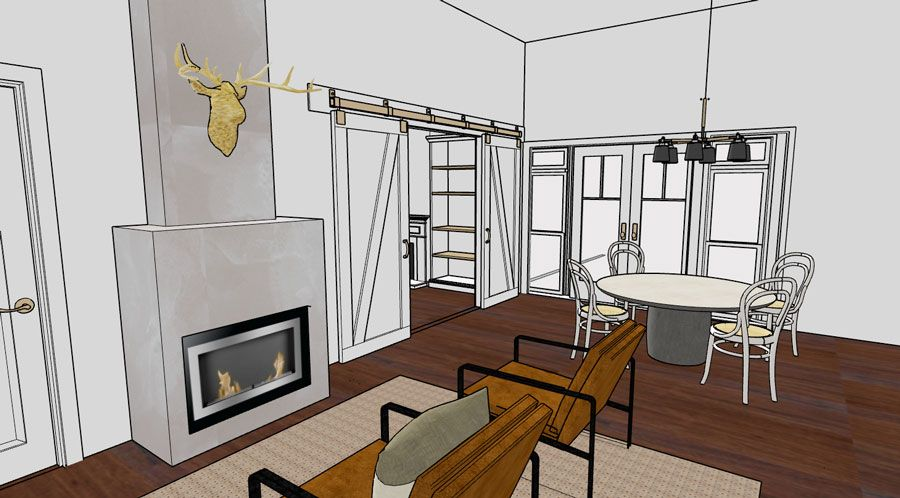 The boho refined cottage | Proposed Plans | renovation perth Small home Renovations Perth | Studio McQueen | Melinda McQueen interior designer and architectural designer